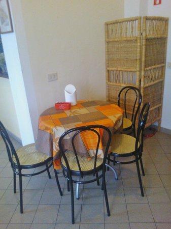 Casa Toselli : saletta della colazione