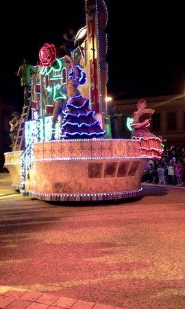 Shima Spain Village Parque Espana: 夜のパレード