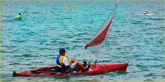 Kayak Rocky Point Foto