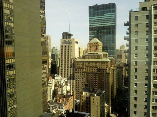 Sheraton New York Times Square Hotel: View from 36th floor room facing Central Park area