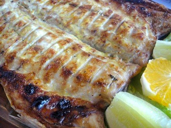 Restaurante Zanoni: anchova na brasa