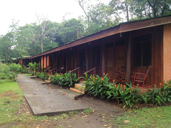 Laguna Lodge Tortuguero: Bloque de habitaciones