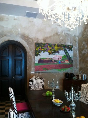 Villa Herencia: Dining room