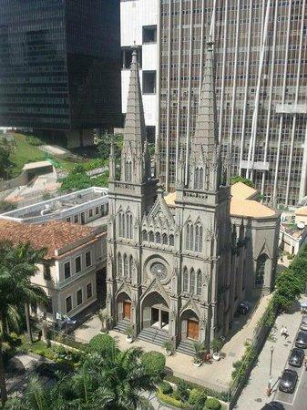 Hotel ibis budget Rio de Janeiro Centro: View from room (Catedral Presbiteriana do Rio de Janeiro)