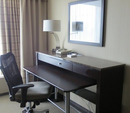 Hotel Bonaventure Montreal: Nice work area if you must