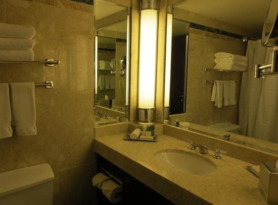 Hotel Bonaventure Montreal: Clean, modern bathroom
