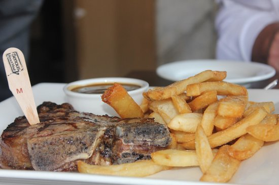 The Stag Hotel: My steak