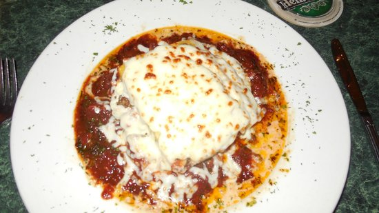 Casa di Amici : lasagna using polenta - so very yummy