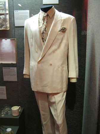 John Gotti's silk suit - Picture of The Mob Museum, Las ...