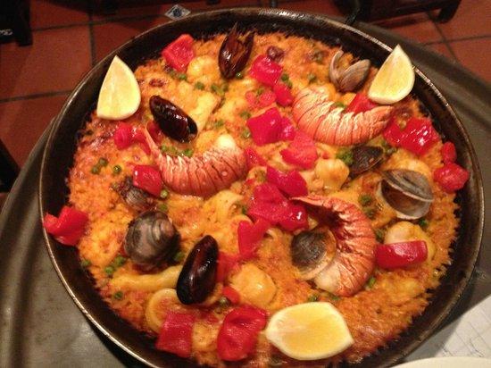 Casa Juancho : paella
