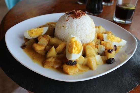 Villa Agung Beach Inn : Egg curry