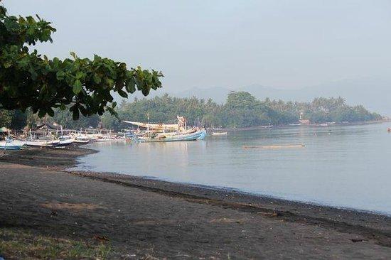 Villa Agung Beach Inn: Beach view