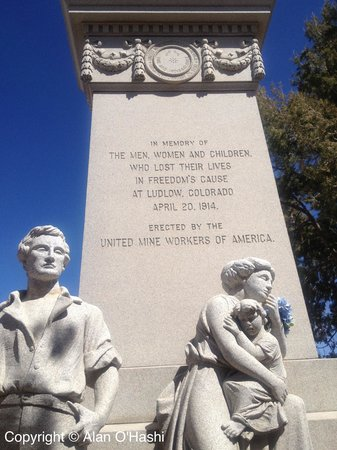 Ludlow Massacre Monument Colorado