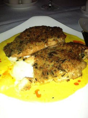 Wave Bistro: basil Encrusted Chicken