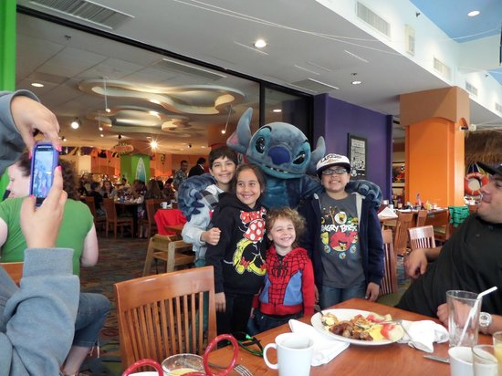 Disney's PCH Grill : Breakfast at the PCH Grill