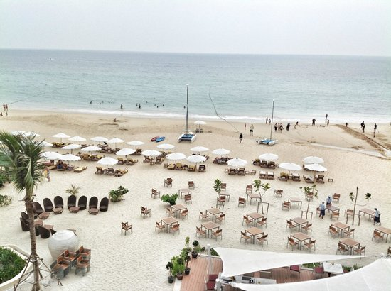 Centara Grand Beach Resort Phuket: View of Karon beach and Beachcomber from the room
