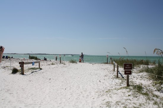 Honeymoon Island State Park Entrance To Dog Beach
