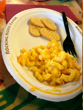 Rocking Horse Ranch Resort: Mac N Cheese - kids love it