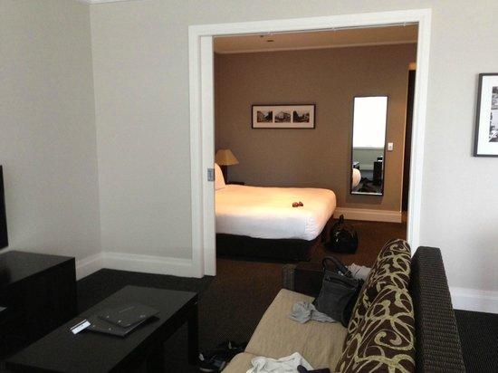 Hilton Lake Taupo: One bedroom king suite.