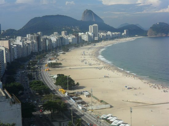 Rio Othon Palace Hotel: VISTA DE LA PLAYA