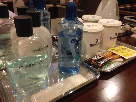December Hotel Jeju: Toiletries