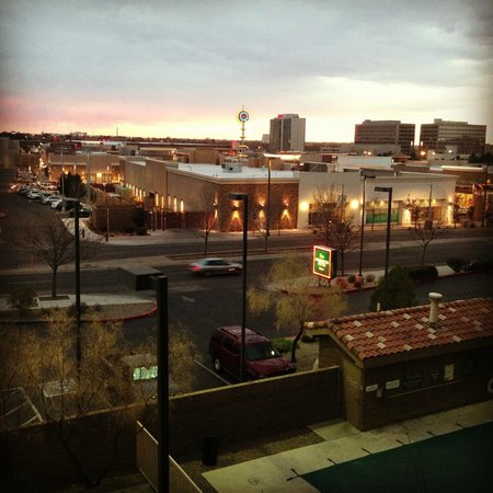 Homewood Suites by Hilton Albuquerque: The view from my room