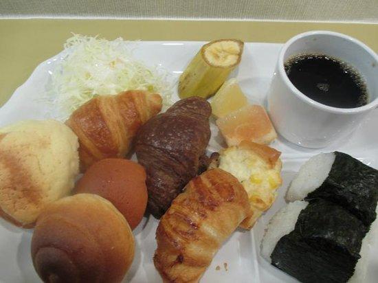 ヴィアイン京都四条室町, 朝食2