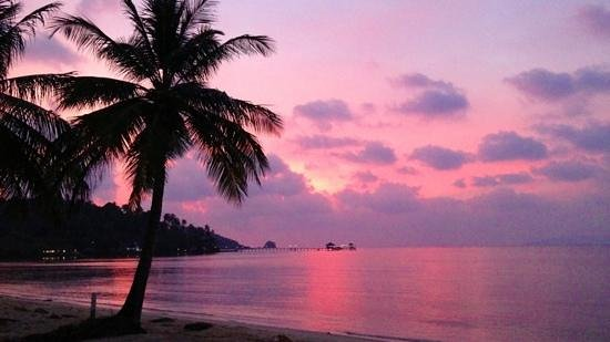 Koh Mak Resort: view from our bungalow