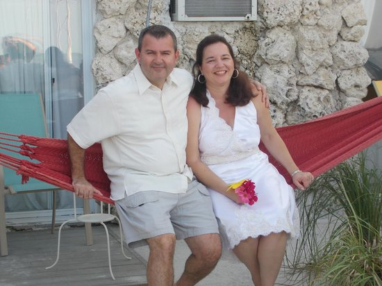 Ibis Bay Beach Resort: Hammock right outside your room