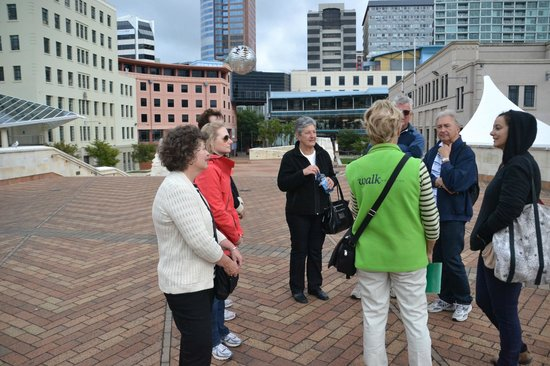 Wellington i-SITE Visitor Information Centre : Walking tour