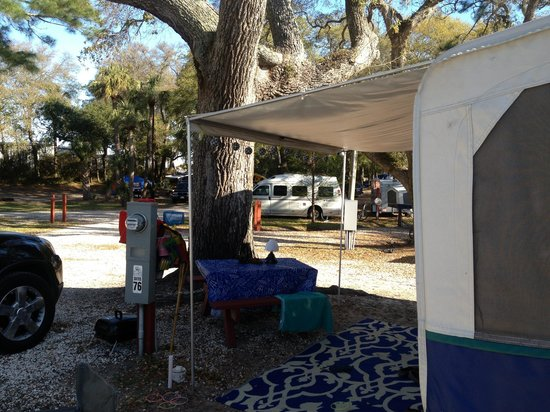 Rivers End Campground and RV Park : Tybee campground