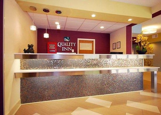 Quality Inn Historic East - Busch Gardens Area: Lobby