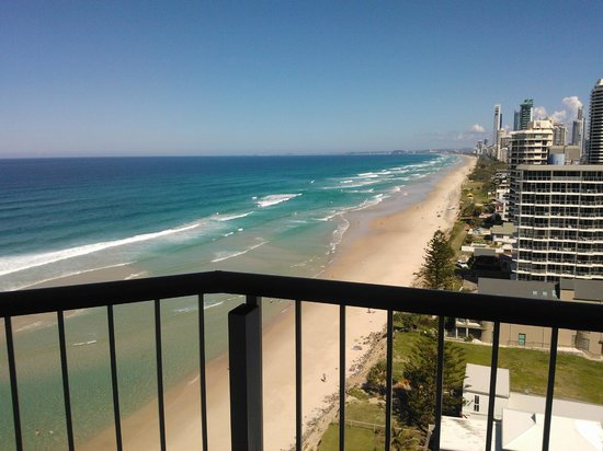 Golden Sands Holiday Apartments : view from 1301 balcony window