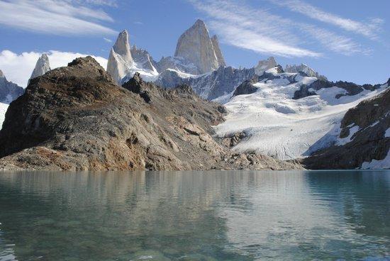 Laguna Torre: Laguna de los Tres - C° Fitz Roy - El Chaltén. Santa Cruz, Argentina