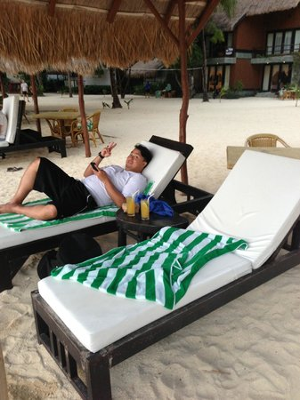 El Nido Resorts Miniloc Island: chillaxin with dranksss yo
