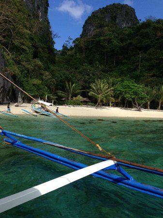 El Nido Resorts Miniloc Island: One of the islands we visited during the day trip