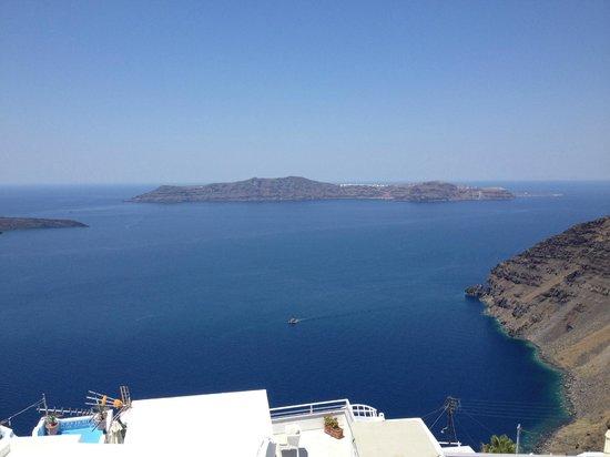 Hotel Mylos: Caldera View