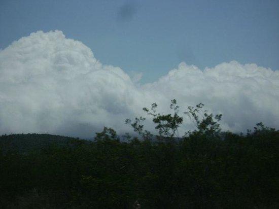 El Cielo International Biosphere Reserve / La Reserva Biosfera El Cielo: De camino al cielo.. vista al tomar la carretera a Ocampo..