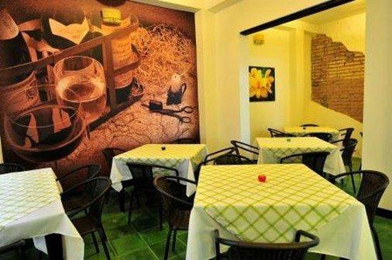 Hotel Puerta de San Antonio: Restaurant