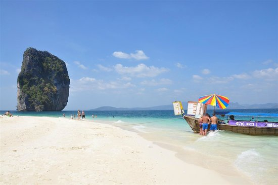 Tup Island: Lunch Restaurant at Poda Island