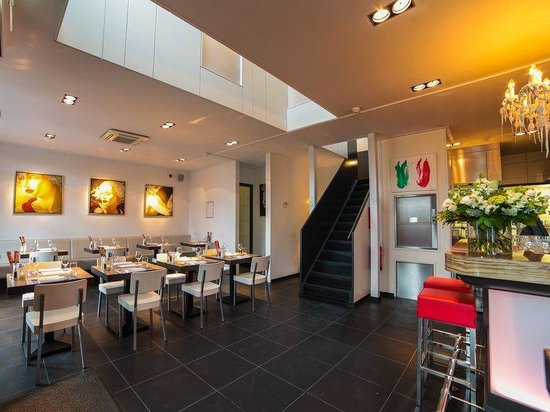 Hotel Herbergh Amsterdam Airport: Restaurant La Bocca