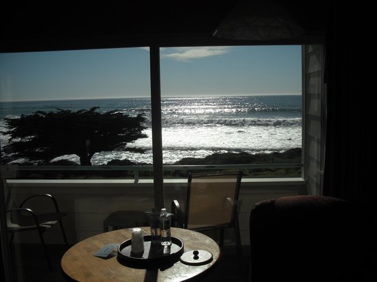 Cambria Landing Inn & Suites : View from our room