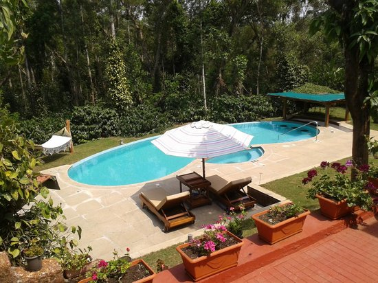 Swimming pool picture of kedakal estate suntikoppa tripadvisor Hotels in coorg with swimming pool