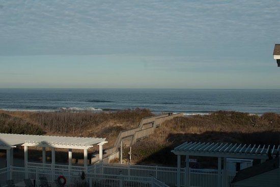 Hampton Inn & Suites Outer Banks / Corolla: View from 3rd floor room.