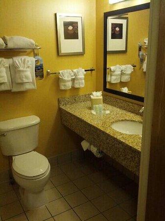 Comfort Suites : bathroom