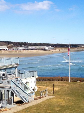 The Beachmere Inn: View from room 213