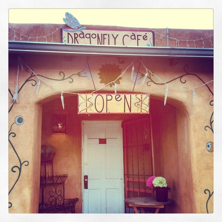 Dragonfly Cafe Entrance