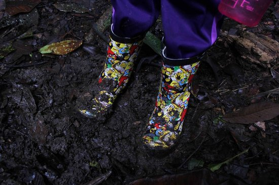 Napo Wildlife Center Ecolodge: Boots for kids are worth bringing along