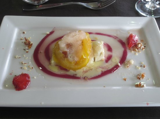 Bodegas Belasco de Baquedano: 5th (dessert) course