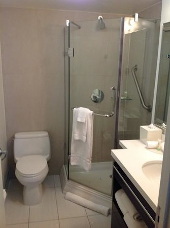 Staybridge Suites Times Square - New York City: bathroom with great shower